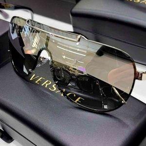 Versace Shield Shades.